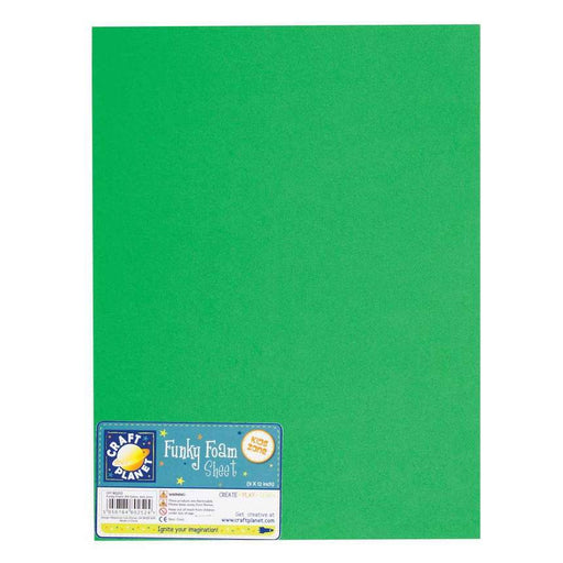9 x 12 Funky Foam Sheet (2mm Thick) - Green