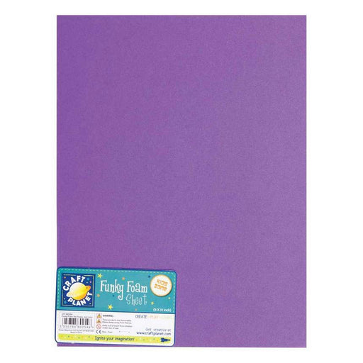 9 x 12 Funky Foam Sheet (2mm Thick) - Purple