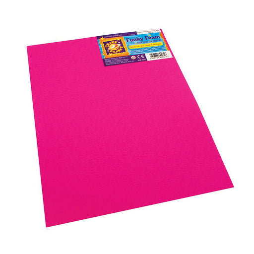 9 x 12 Funky Foam Sheet (2mm Thick) - Fuschia