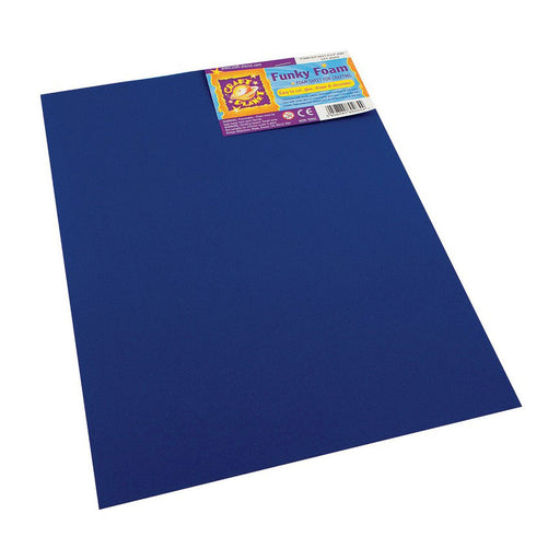 9 x 12 Funky Foam Sheet (2mm Thick) - Navy