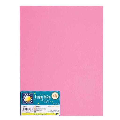9 x 12 Funky Foam Sheet (2mm Thick) - Pink