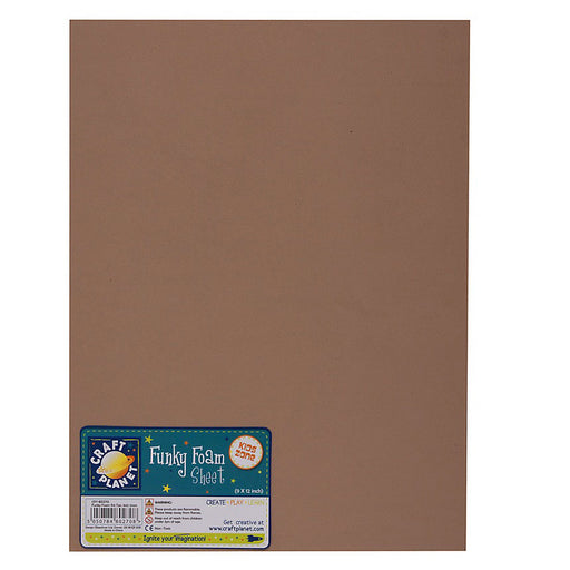9 x 12 Funky Foam Sheet (2mm Thick) - Tan