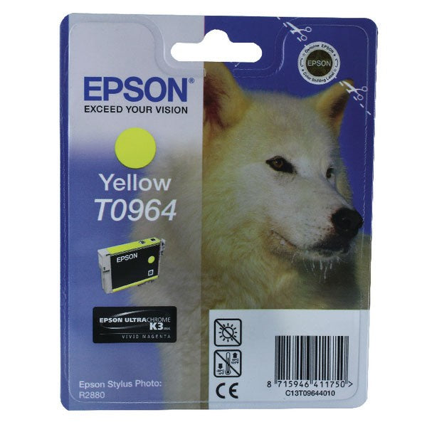 Epson T0964 Yellow Inkjet Cartridge C13T09644010 / T0964