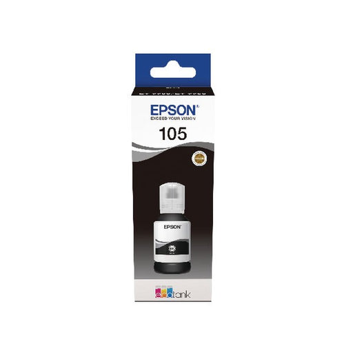 Epson 105 EcoTank Black Ink Bottle C13T00Q140
