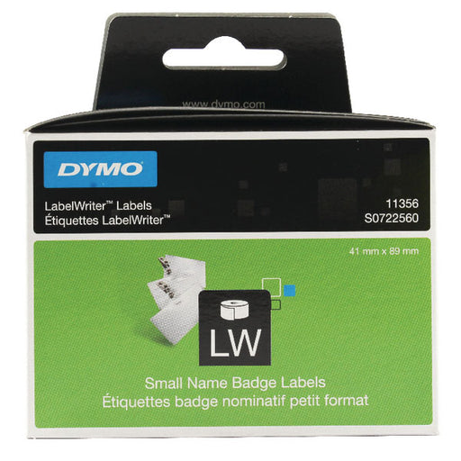 Dymo 11356 Namebadge Labels 89 x 41mm S0722560