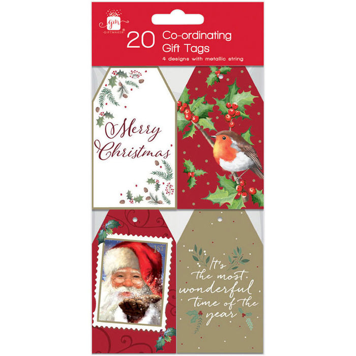 Elegant Traditions Christmas Gift Tags