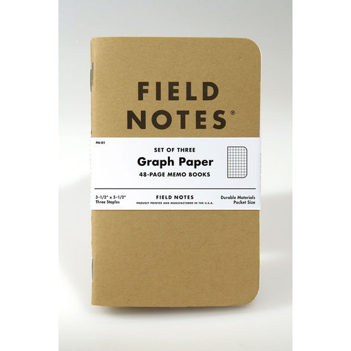 Field Notes Original Kraft- 3-pack