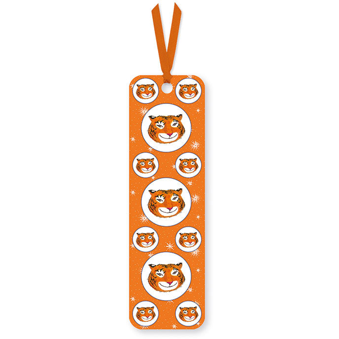 Tiger Smiles Bookmark