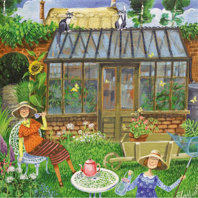 Stephanie Lambourne - A Sunday Afternoon In The Garden