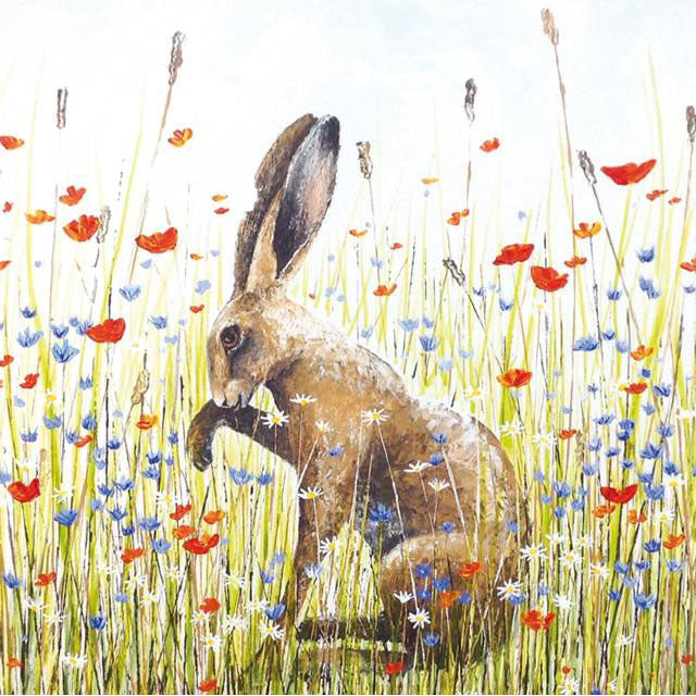 Sarah Pye - Meadow Hare