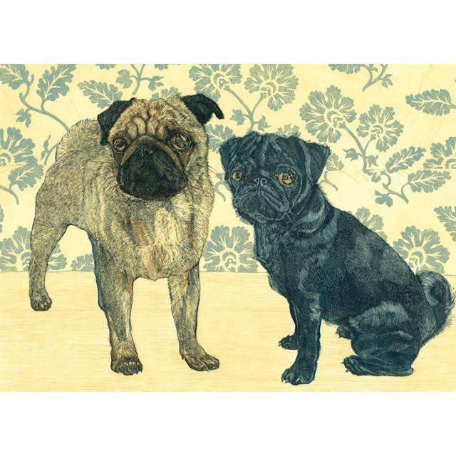 Vanessa Lubach - Two Pugs