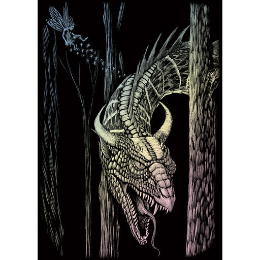 Holographic Mini Foil Forest Dragon