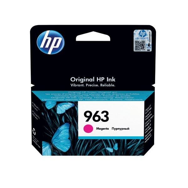 HP 963 Original Ink Cartridge Magenta 3JA24AE