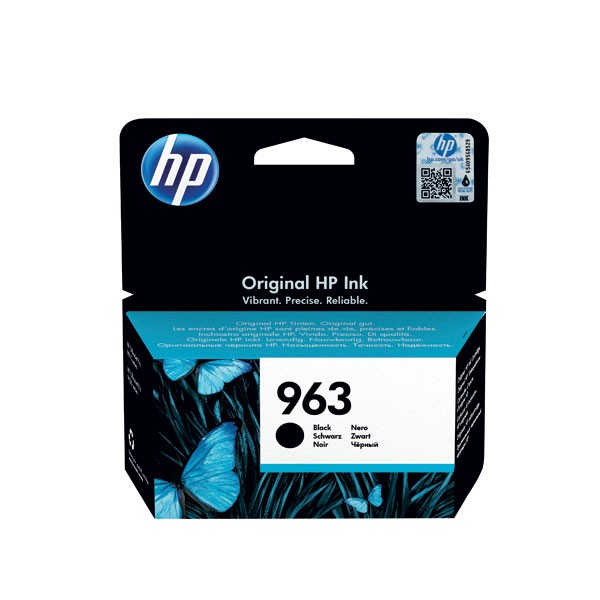 HP 963 Original Ink Cartridge Black 3JA26AE