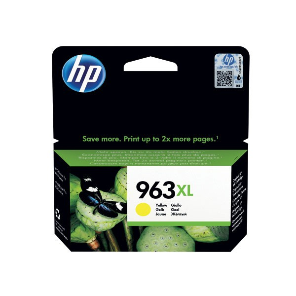 HP 963XL Original Yellow Ink Cartridge High Yield 3JA29AE