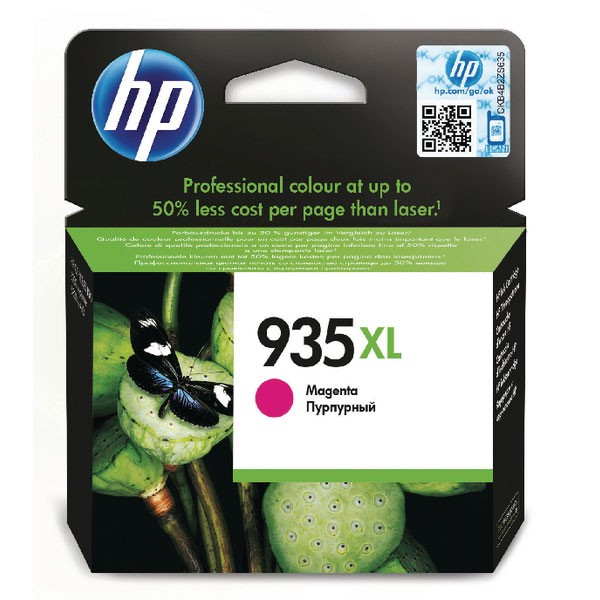 HP 935XL Magenta High Yield Ink Cartridge (825 page capacity) C2P25AE