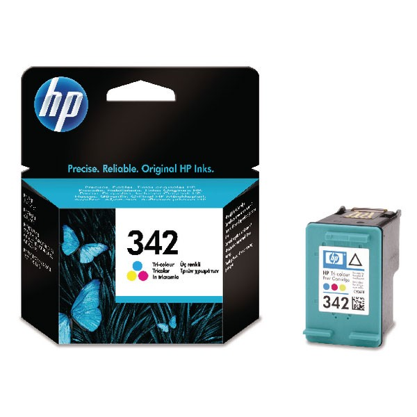 HP 342 Cyan/Magenta/Yellow Inkjet Cartridge C9361EE
