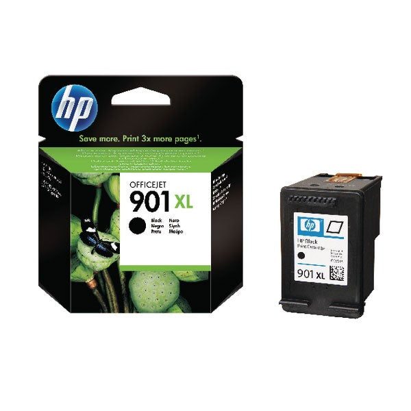 HP 901XL Black High Yield Officejet Inkjet Cartridge CC654AE