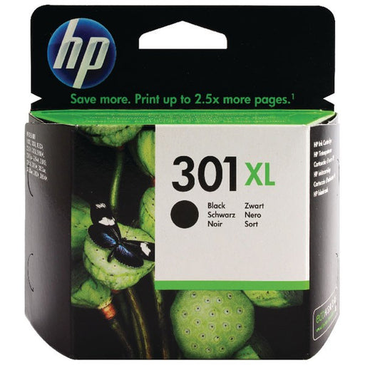 HP 301XL Black Ink Cartridge CH563EE