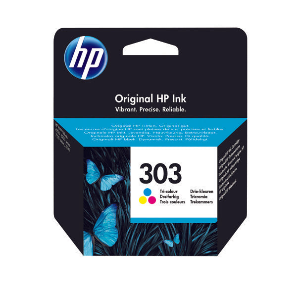 HP Original 303 Tri Colour Ink Cartridge T6N01AE