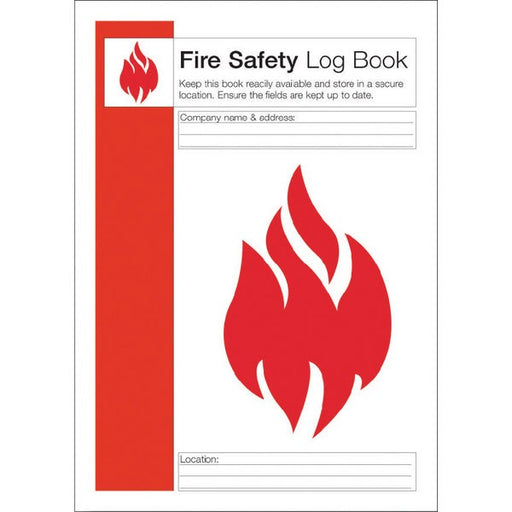 Fire Safety Log Record Book IVGSFLB