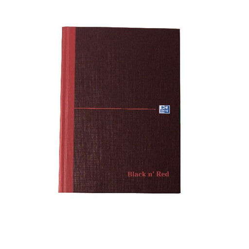 Black n' Red A-Z Casebound Hardback Notebook 192 Pages A5 100080491
