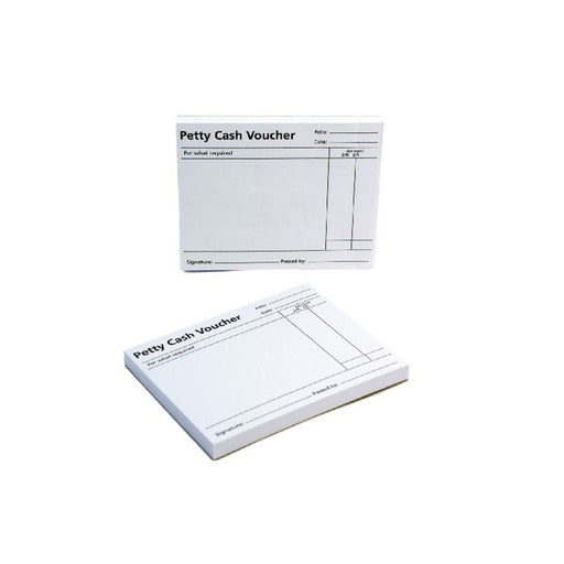 Q-Connect Petty Cash Voucher Pad 125x101mm KF00103