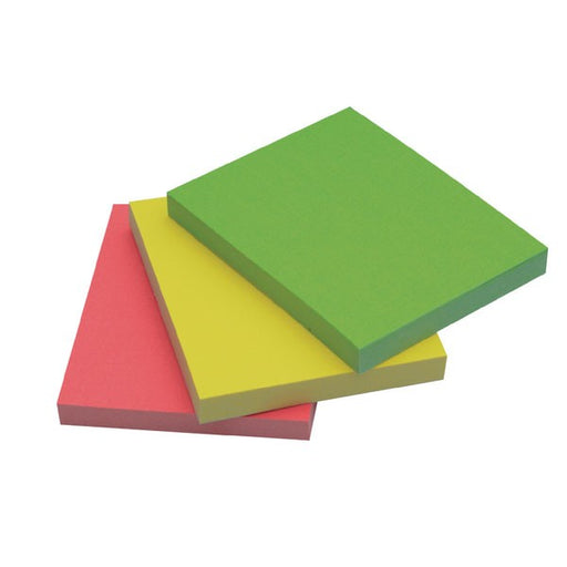 Q-Connect Quick Notes 38 x 51mm Neon KF01224