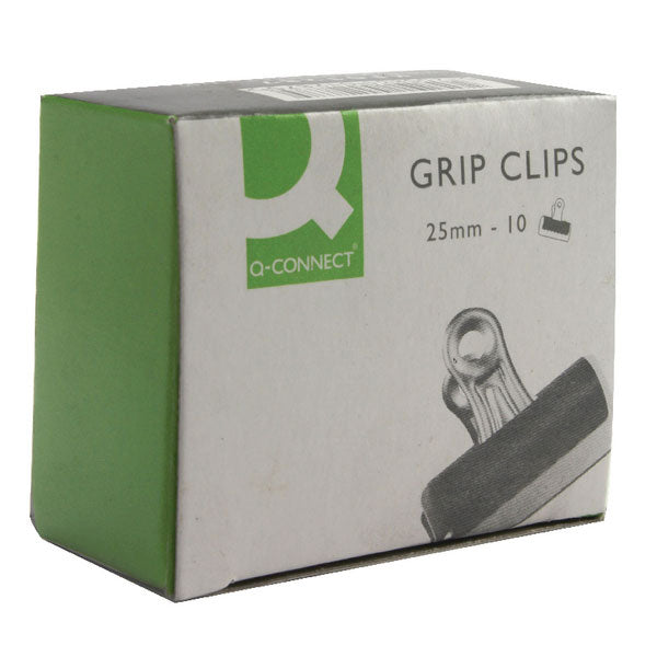 Q-Connect Grip Clip 25mm Black KF01287