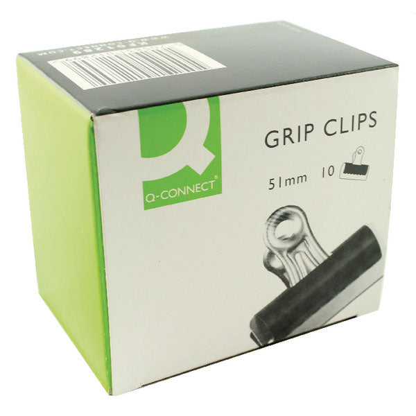 Q-Connect Grip Clip 51mm Black KF01289