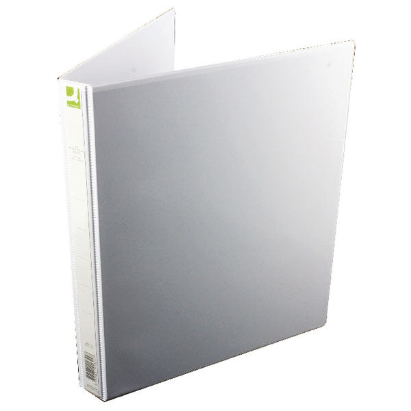 Q-Connect Presentation 16mm 4D-Ring Binder A4 White KF01324Q