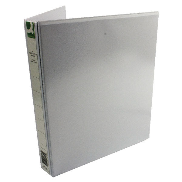 Q-Connect Presentation 25mm 4D-Ring Binder A4 White KF01325Q