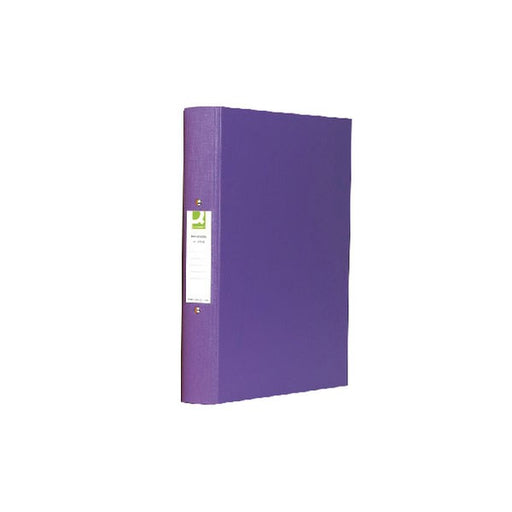 Q-Connect 25mm 2 Ring Binder Polypropylene A4 Purple KF01474