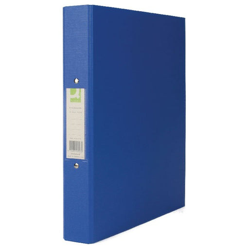 Q-Connect 25mm 2 Ring Binder Polypropylene A4 Blue KF02003