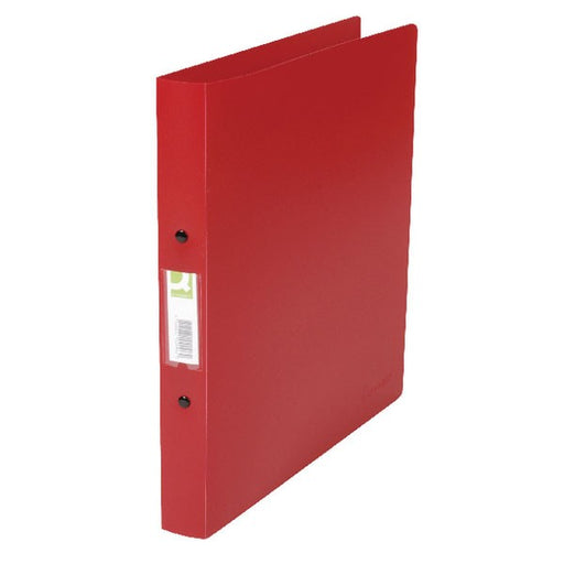 Q-Connect 25mm 2 Ring Binder Polypropylene A4 Red KF02008