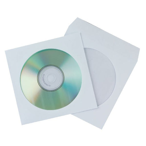 50 x Q-Connect CD Envelope Paper KF02206
