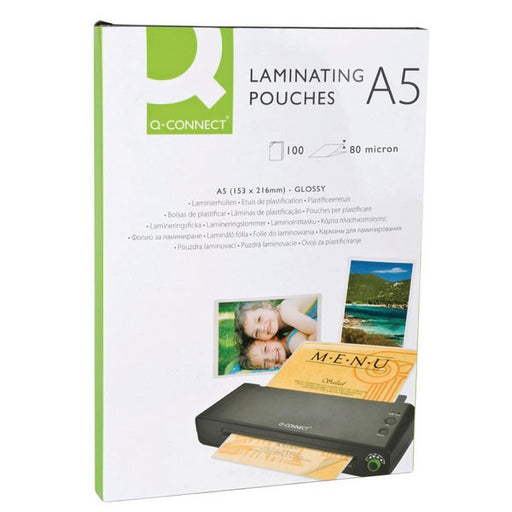 Q-Connect A5 Laminating Pouch 160 Micron KF04106