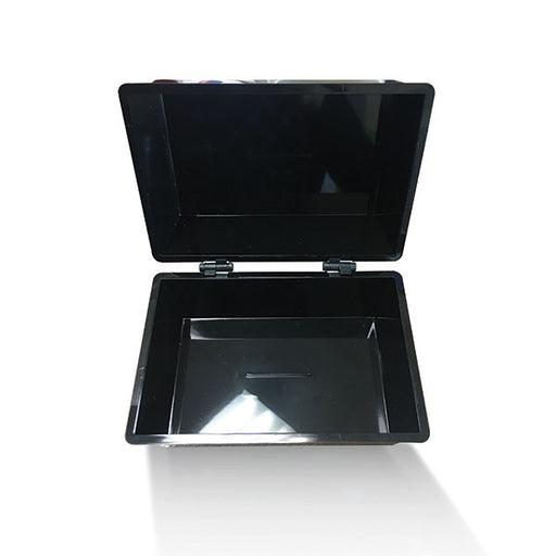 Value Deflecto Card Index Box (6 x 4 inches) Black