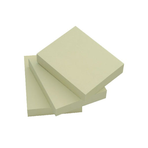 Q-Connect Quick Notes 38 x 51mm Yellow KF10500