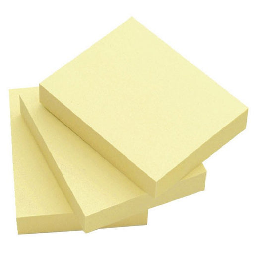 Q-Connect Quick Notes 51 x 76mm Yellow KF10501