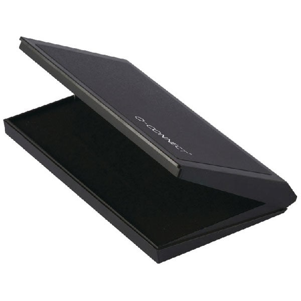 Q-Connect Large Stamp Pad Black KF15440