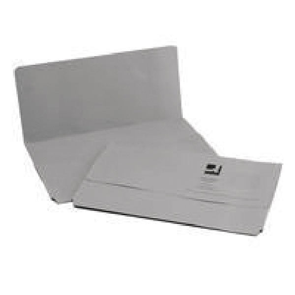 Q-Connect Document Wallet Foolscap Grey KF23013