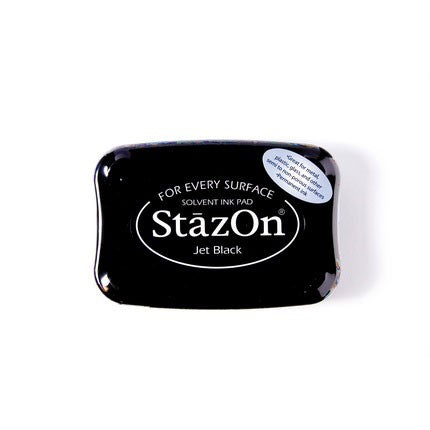 StazOn Ink Pads Jet Black Staz On Pad