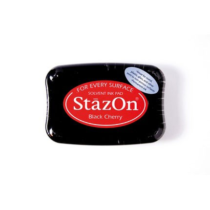 StazOn Ink Pads Black Cherry Staz On Pad