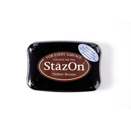 StazOn Ink Pads Timber Brown Staz On Pad