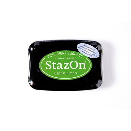 StazOn Ink Pads Cactus Green Staz On Pad