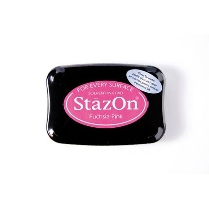 StazOn Ink Pads Fuchsia Pink Staz On Pad