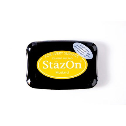 StazOn Ink Pads Mustard Staz On Pad
