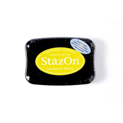 StazOn Ink Pads Sunflower Yellow Staz On Pad