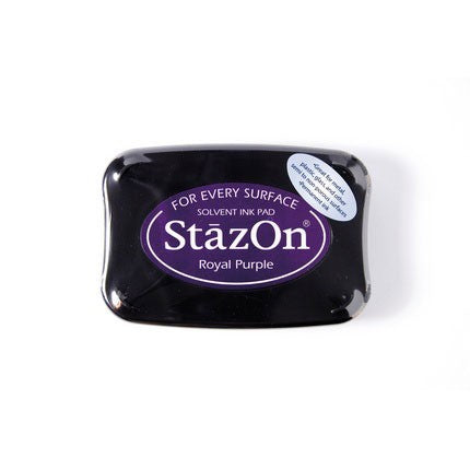 StazOn Ink Pads Royal Purple Staz On Pad
